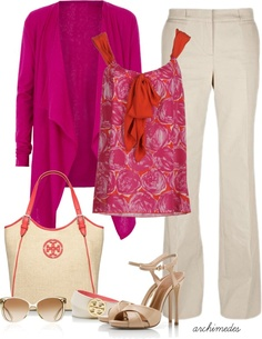 """Tory Burch Summer"" by archimedes16 on Polyvore"