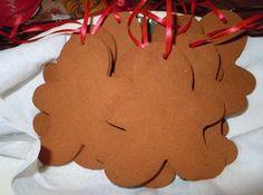 Cinnamon Dough Ornaments:   1 ccinnamon,  3/4 cup applesauce,  2 Tbsp Elmer's glue