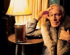 Christopher Plummer by Mark Seliger at Algonquin Hotel in New York for Vanity Fair, March 2004.