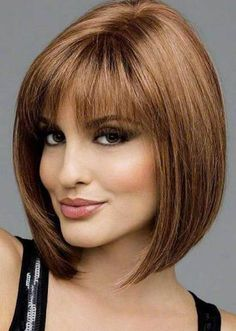 Bob Hairstyles With Bangs 2018 8