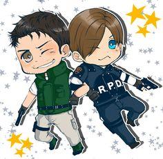 Chris & Leon