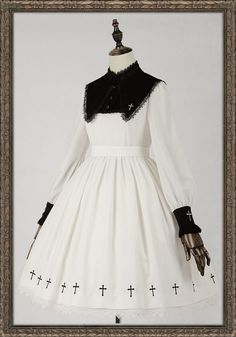 Ista Mori -Nameless Poem- Gothic Lolita OP Dress