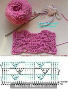 crochet patterns for landscape yarn - landscape yarn crochet patterns . crochet patterns for landscape yarn . Crochet Motifs, Crochet Diagram, Crochet Stitches Patterns, Crochet Chart, Crochet Squares, Filet Crochet, Crochet Designs, Knitting Patterns, Crochet Lace Scarf