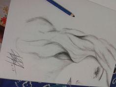 girl on sketch
