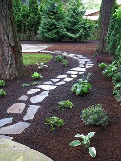 Cool 75 Front Yard Garden Path & Walkway Landscaping Ideas https://crowdecor.com/75-front-yard-garden-path-walkway-landscaping-ideas/