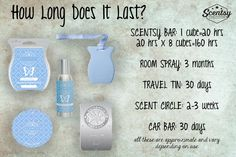 how long does it last?  https://stephaniewollschlager.Scentsy.us