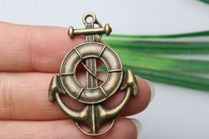 Own Charm~ Anchor charms 26 x 18mm antique bronze