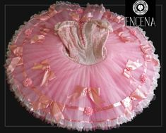 "New Collection 2017/2018! This professional tutu is a true ""doll-like"" costume! This costume has been created for the role of the Fairy Doll, however it can also be used for Kissy Doll in Nutcracker o"
