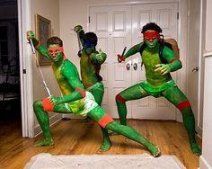 Cosplay Tortues Ninja