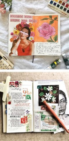 For those that love art making and writing, art journals are a great way to express their inner selves.