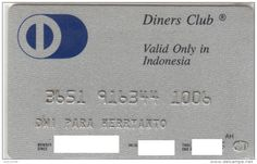 Diners Club card Indonesia