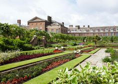 Kensington Palace and the gardens, east view
