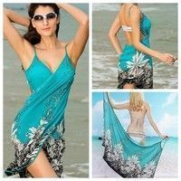 Women Fashion Floral Bikini Swimsuit Cover Up Beach Dress Tesettur Kombinleri T Tesettur Mayo Sort Modelleri 2020 Moda Stilleri Moda Kadin Ve Bikini
