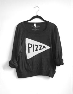 The Pizza Design - now available on a super cozy American Apparel pullover, screen printed in my Philadelphia studio. 100% made in the USA! If youre