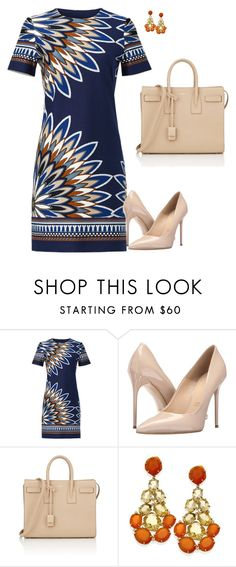 """""""Massimo"""" by tina-pieterse ❤ liked on Polyvore featuring Tory Burch, Massimo Matteo and Yves Saint Laurent"""