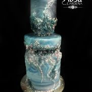A place for people who love cake decorating. Geode Cake, Awesome Cakes, Cake Decorating