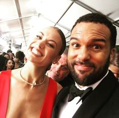 otfagbenle A mix of Emmy night 😍and now back to work! I start filming tomorrow! can you spot our writer and showrunner? Chuck Cast, Yvonne Strahovski, Then And Now, Season 2, Maid, Love Her, Crushes, Writer, It Cast
