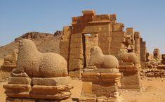 Naqa or Naga'a (Arabic: النقعة an-Naqʿa), a ruined ancient city of the Kushitic Kingdom of Meroë in Sudan.