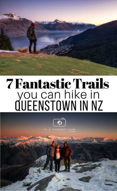 Explore Queenstown by foot by checking out these 7 amazing day hikes! Colorado Hiking, Go Hiking, Hiking Trails, Queenstown Activities, Nz South Island, New Zealand Travel Guide, Hiking Training, New Zealand South Island, Travel