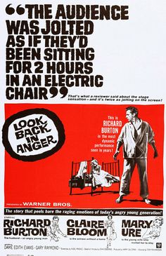 Look Back In Anger (1958) - Richard Burton, Claire Bloom, Mary Ure