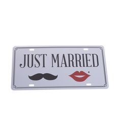 Just Married, Signs, Home Decor, Tables, Decoration Home, Room Decor, Shop Signs, Home Interior Design, Sign