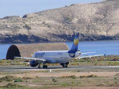 Canary Islands Spotting....Spotter: D-AICD Condor Airbus A320-212 LPA/GCLP Gran Canari...