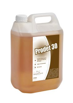 Prodet 30 is a a high performing and highly concentrated bactericidal detergent for general purpose cleaning, pan and pot washing. Use with a stork dispenser for extra economy and greater efficiency. 30% active.