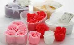 Cómo hacer pétalos de jabón