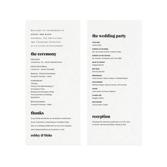 Our Fairfax Wedding Program template is perfect for classic and modern weddings alike. This instant Wedding Songs, Our Wedding, Wedding Ideas, Wedding Stuff, Dream Wedding, Wedding Inspiration, Modern Wedding Program, Wedding Rings Teardrop, Printable Wedding Programs