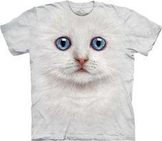 The Mountain Ivory Kitten Face Child T-shirt - http://bandshirts.org/product/the-mountain-ivory-kitten-face-child-t-shirt/