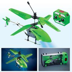 Glow in the Dark Remote Control Helicopter