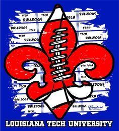 LA Tech on Pinterest | Tech, Louisiana and Bulldogs