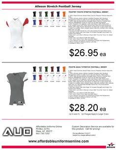 955c0ebfb Buy Custom Football Uniform