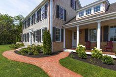 Edgartown Home Rental - SULLS   Martha's Vineyard Vacation Rentals. Beautifully landscaped exterior.