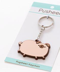 Pugsheen Keychain