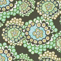 Amy Butler Daisy Chain Dandelion Field Forest Fabric - $9.98 ...