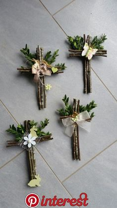 decorations for easter church \ decorations for easter ` decorations for easter table ` decorations for easter church Spring Crafts, Holiday Crafts, Cross Wreath, Easter Religious, Christian Crafts, Diy Ostern, Cross Crafts, Easter Cross, Deco Floral