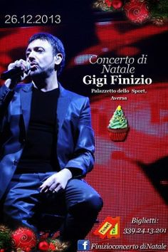 This is an advertisement for Gigi Finzio's Christmas performance.