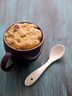 One minute choc chip cookie (in a mug)