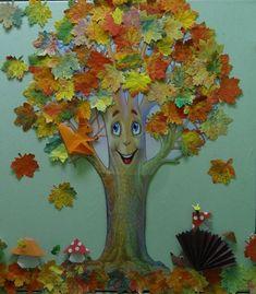 Кленовые листья из мятой бумаги.. Обсуждение на LiveInternet - Российский Сервис Онлайн-Дневников