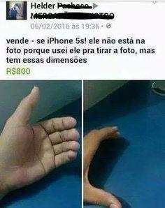 Iphone 5s - O S é de sumido. kkkkkkkkkkkkkkkkk