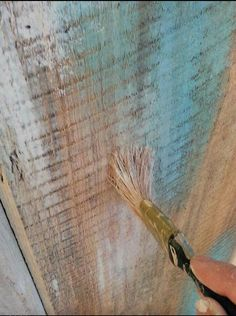 Drybrush technique by Patina Chic.