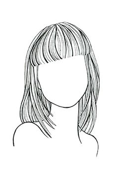 Straight Hair, Round Face A shoulder-dusting cut with long layers elongates your face. Strong, straight-across bangs enhance cheekbones. *this is what my hair looks like now. Haircuts For Round Face Shape, Bangs For Round Face, Hairstyles For Round Faces, Straight Hairstyles, Makeup For Round Face, Toddler Hairstyles, Curly Hairstyles, Natural Hairstyles, Haircuts With Bangs