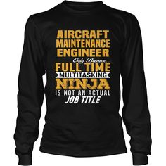 Aircraft Maintenance Engineer, Order HERE ==> https://www.sunfrog.com/Jobs/113407946-412865859.html?53625, Please tag & share with your friends who would love it , #jeepsafari #renegadelife #christmasgifts