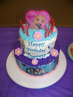 Bratz Birthday Cake Cakes I have made Pinterest Birthday cakes