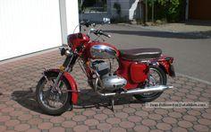 1968 Jawa Motorcycle