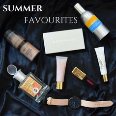 Beauty Soufflé: Summer Favourites Round-up :) cluse watch, mineral foundation, ysl, kryolan