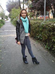 shades of grey =))))) (H&M jacket )