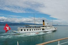 Lacs, France, Switzerland, Transportation, Ships, Boat, Water, Boating, Sail Away