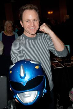 Pin for Later: Find Out When the Power Rangers Reboot Hits Theaters! The Blue Ranger (David Yost) Was the Only Ranger With Perfect Attendance That is, in the original series, Mighty Morphin' Power Rangers. Yost was the only actor in all 155 episodes from the initial run.